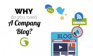 company blog - why do you need one?