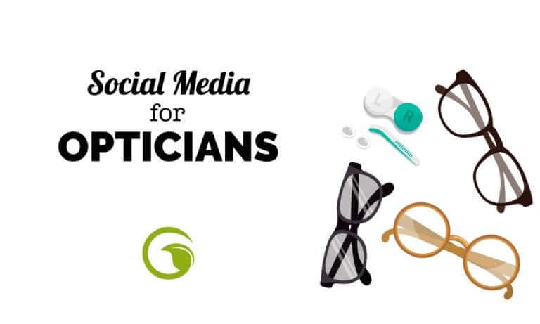 social media for opticians
